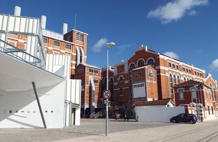O antigo Museu da Energia que agora foi incorporado ao MAAT