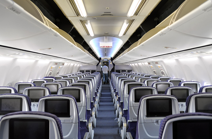 Interior do 737-800 (Imagem: Airlines.net)