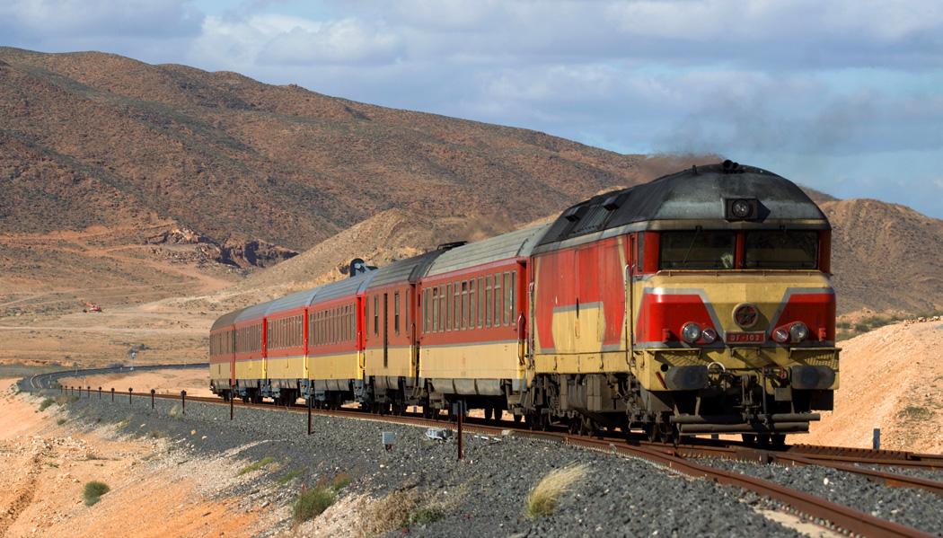 Como é viajar de trem pelo Marrocos