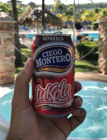 A versão cubana da Coca-Cola