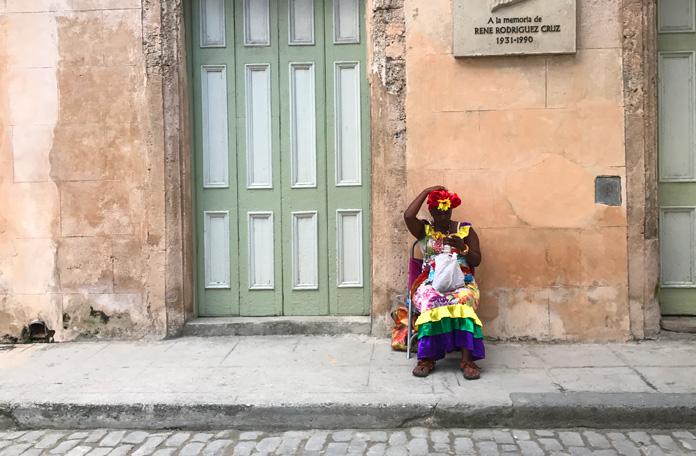 Talvez a imagem que melhor represente Havana Velha