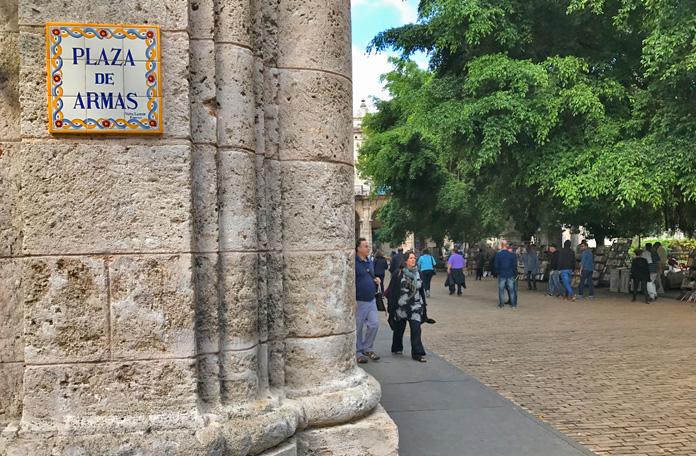 Um lugar super bem conservado em Havana