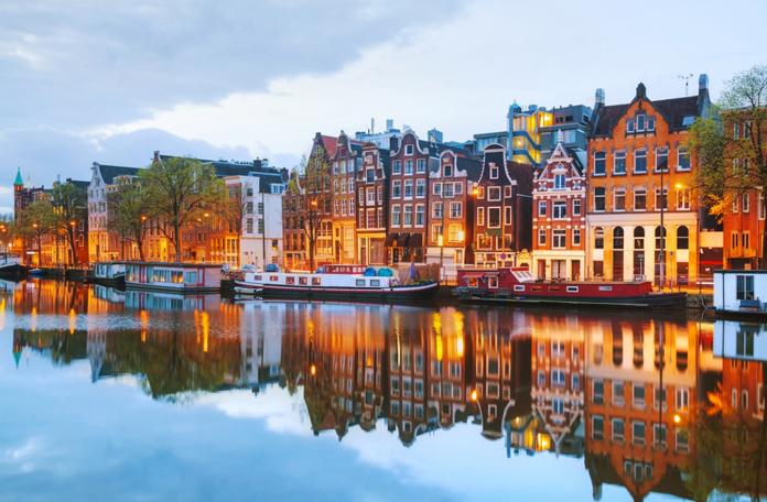 Amsterdã é linda em qualquer época do ano