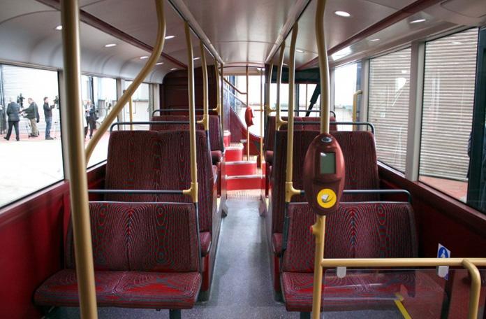 Routemaster clássico por dentro