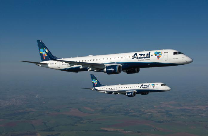 Embraer 190 e 195 (imagens de divulgação)