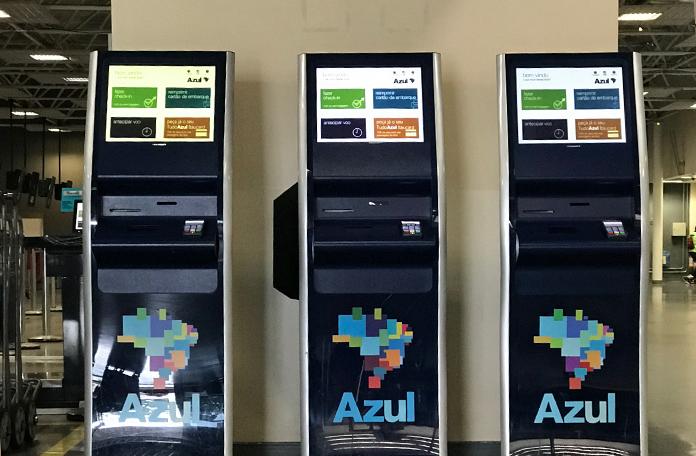 Máquinas de check-in em Guarulhos