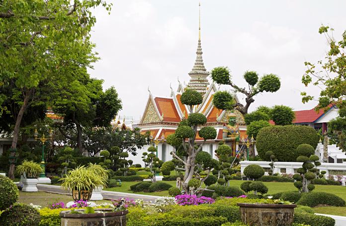 Outros templos e jardins do Wat Arun