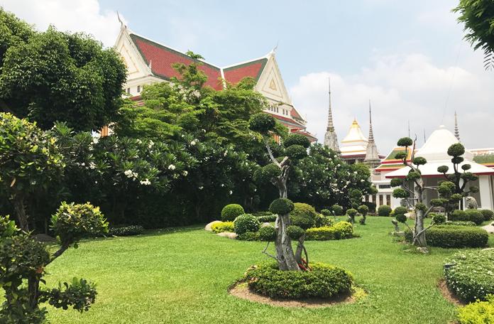 Jardins do templo