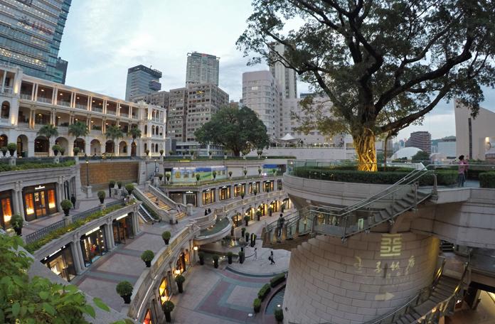 The Heritage, shopping de luxo ocupando um prédio histórico