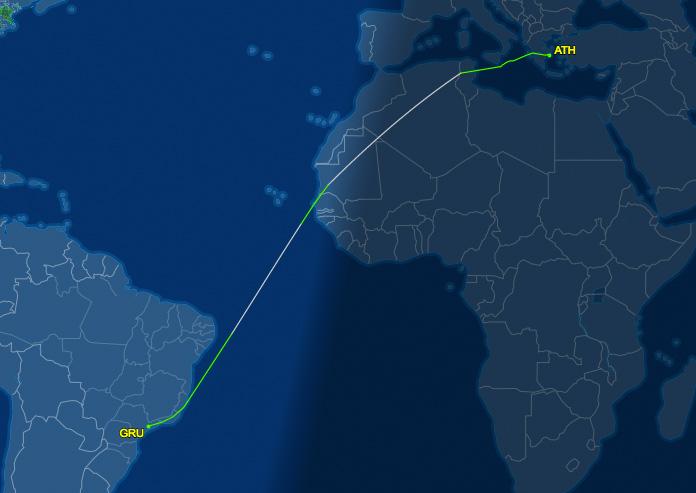 De Atenas até São Paulo