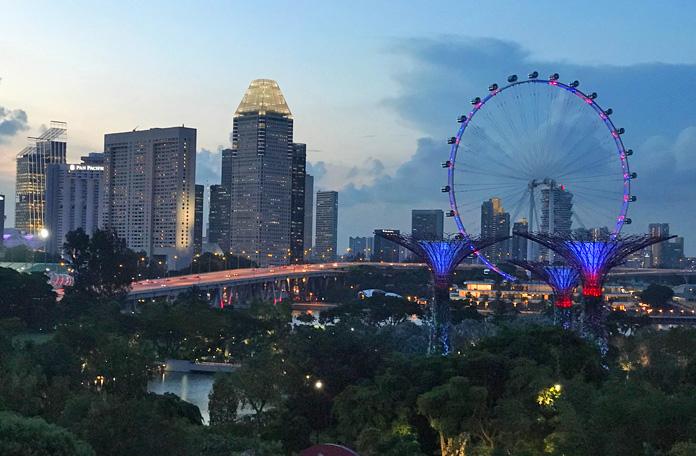 A Singapore Flyer, a roda gigante de Cingapura