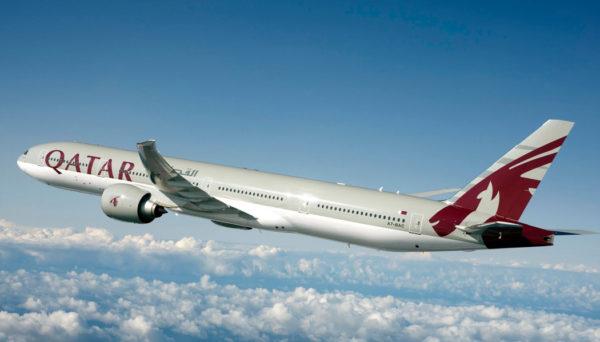 Como é voar com a Qatar