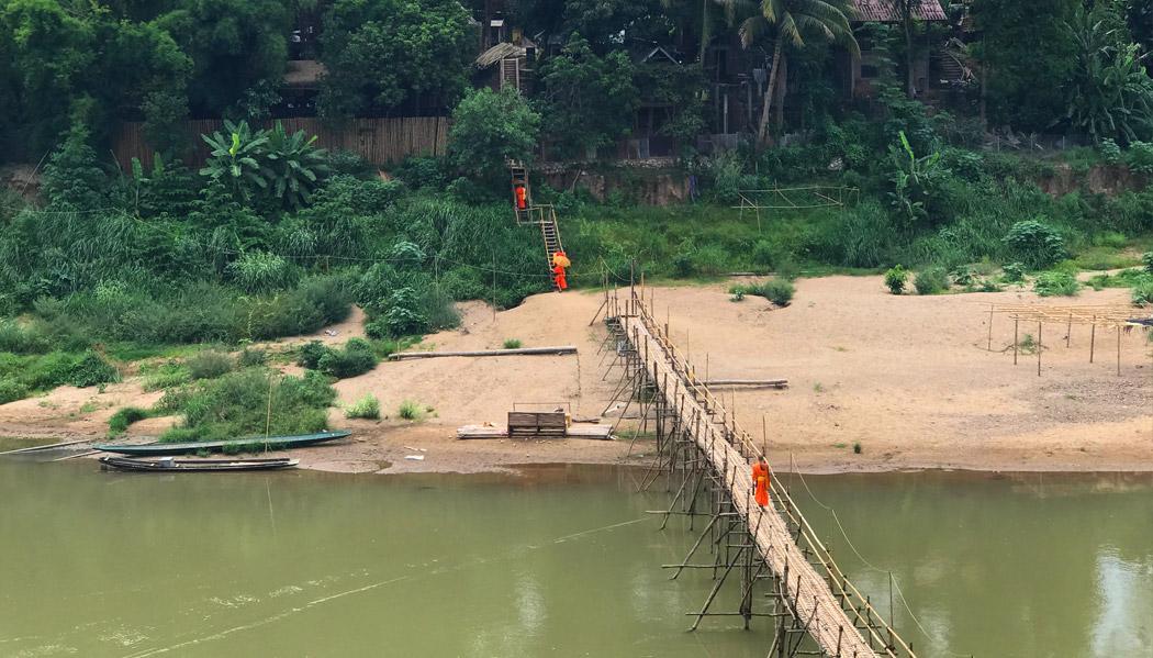 Pontes de bambu