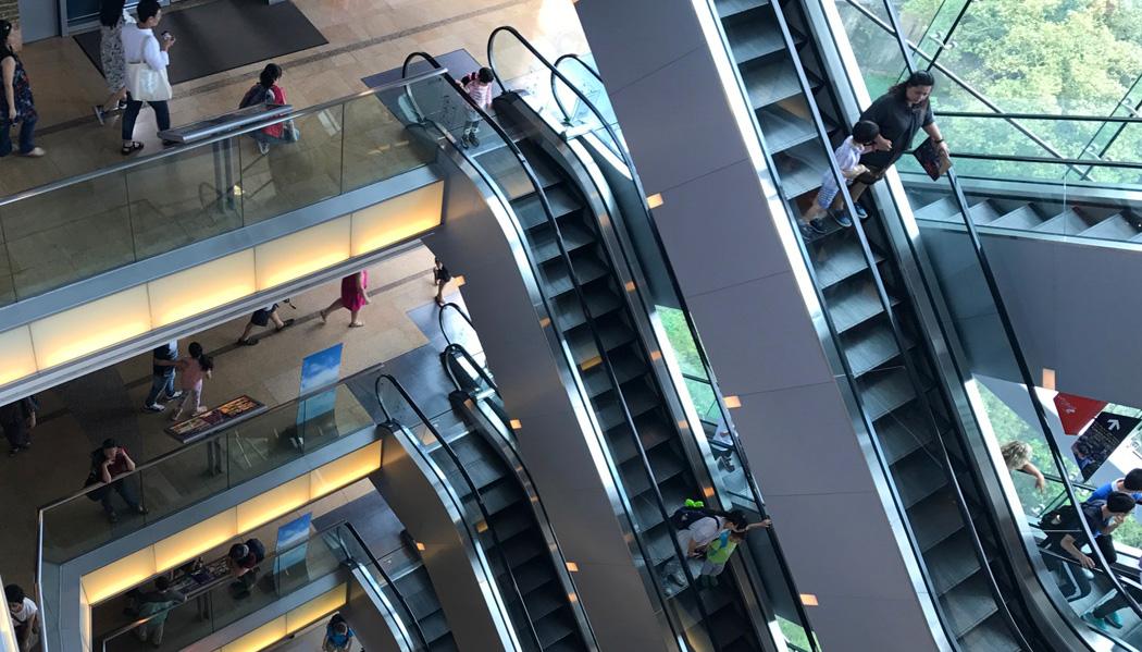 Subindo até o Sky Terrace 428