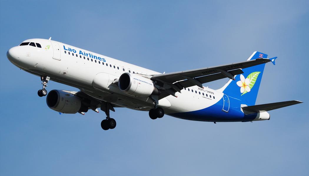 Como é voar com a Lao Airlines
