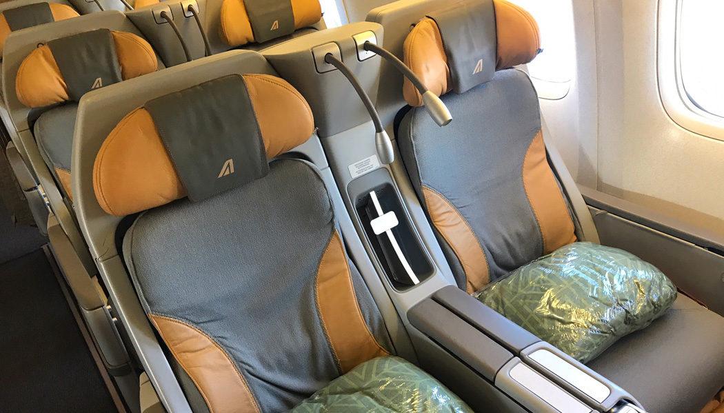 Vale a pena voar em uma classe premium economy