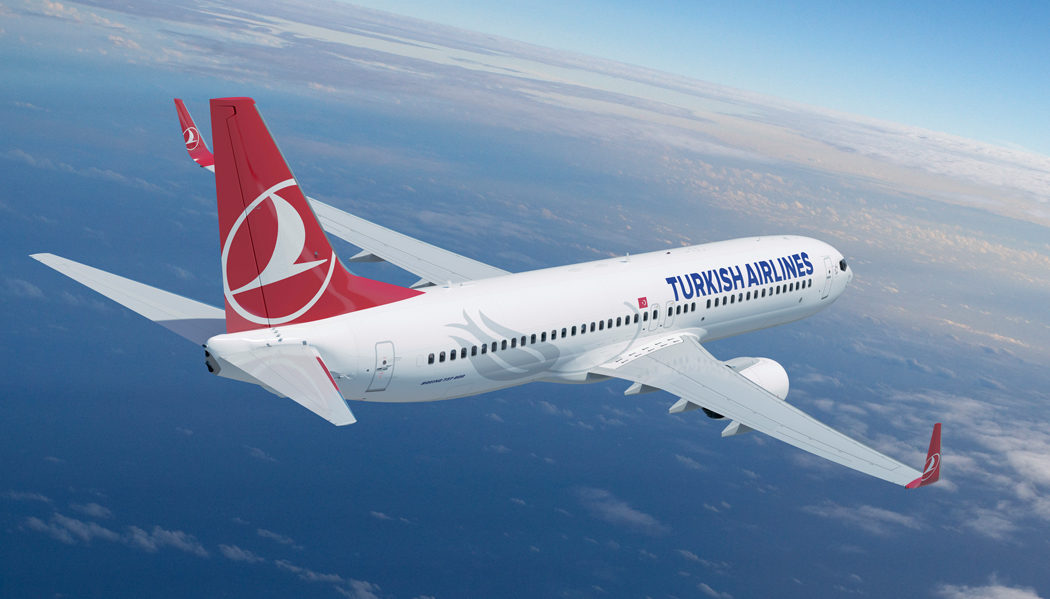 Como é voar com a Turkish Airlines