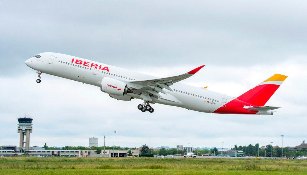 Iberia recebe seu primeiro Airbus A350