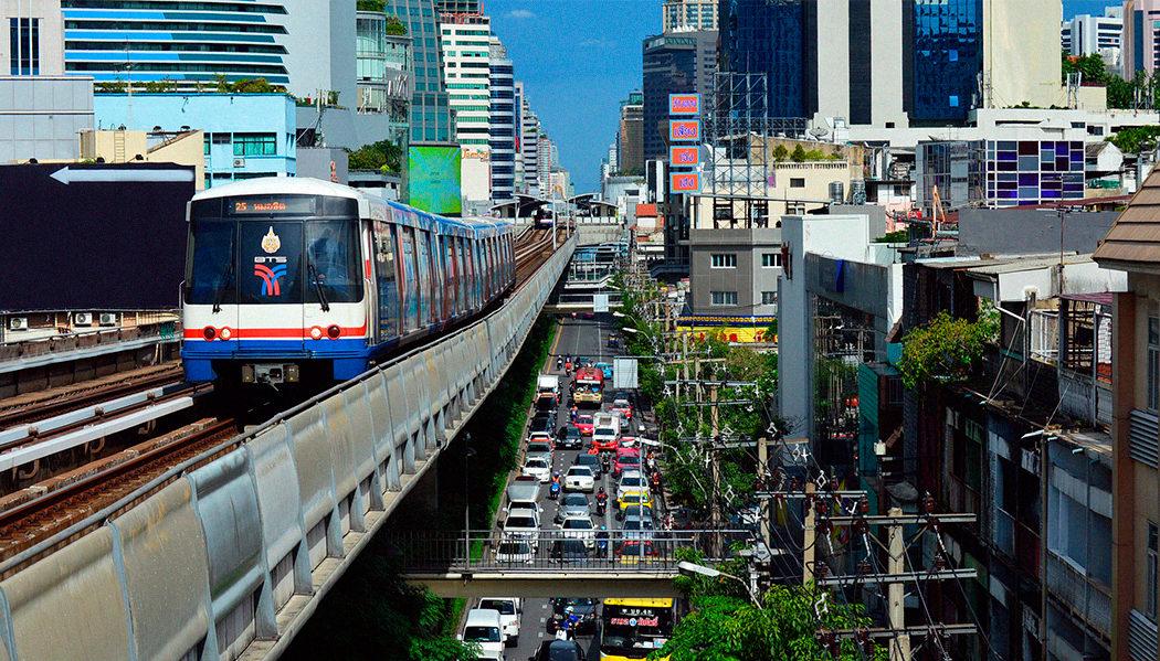 Como usar o metrô de Bangkok