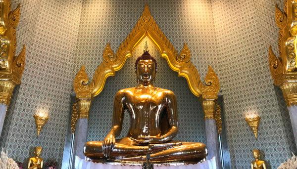 Chinatown e o Templo do Buda de Ouro