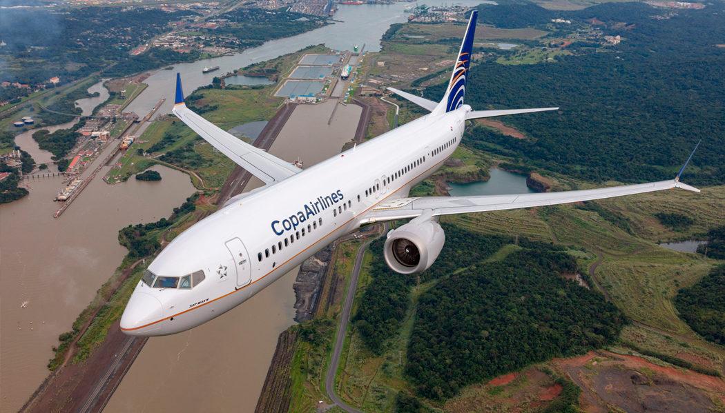 Copa Airlines apresenta seu novo Boeing 737 MAX 9
