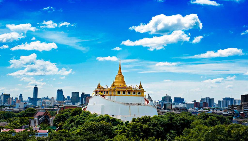 Templo Golden Mount Templos de Bangkok