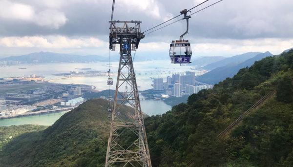 teleférico de Hong Kong