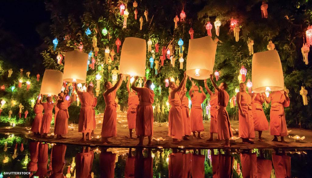 Festival das Lanternas Roteiro na Tailândia