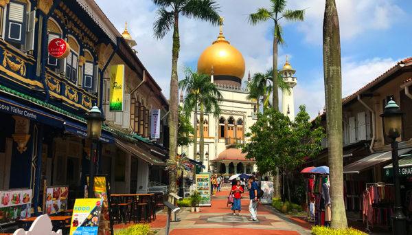 bairro árabe de Singapura