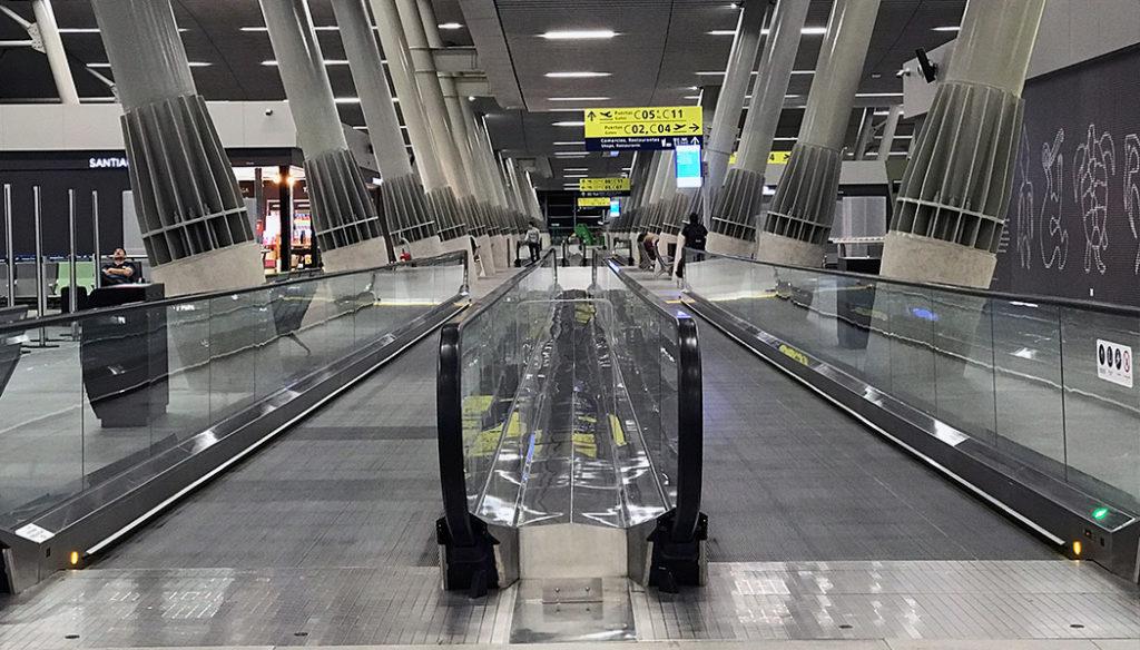Aeroporto de Santiago Como é passar pela imigração em Santiago