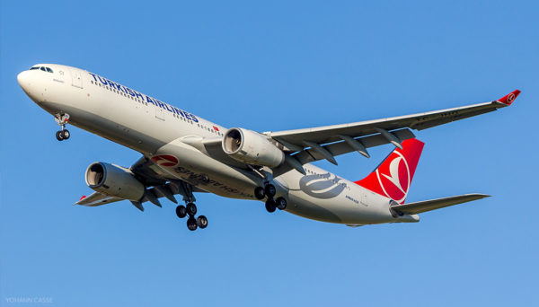 Turkish Airlines de Paris a Istambul
