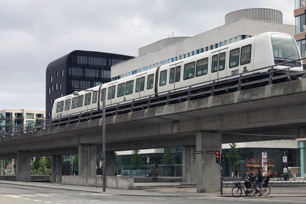 metrô de Copenhagen