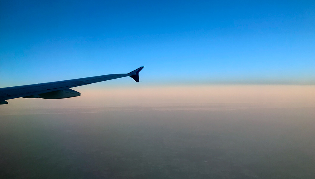 Como é voar com a SAS