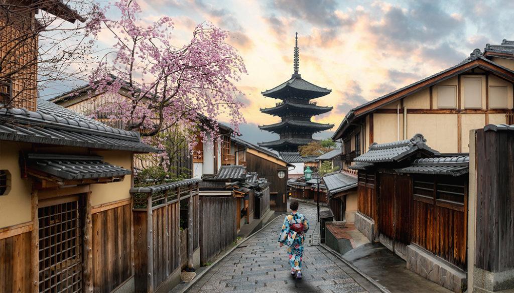 visto do Japão O que fazer em Kyoto