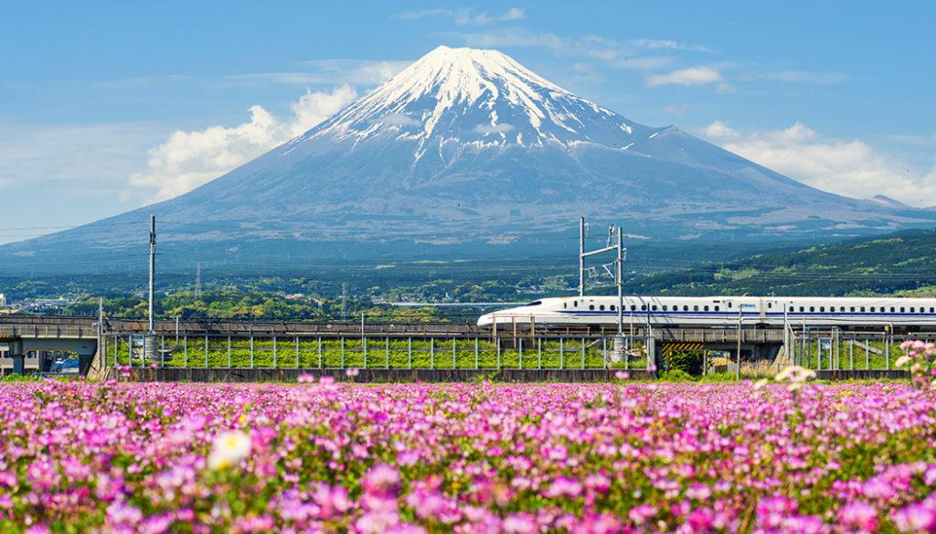 Trem bala japonês Roteiro em Tóquio