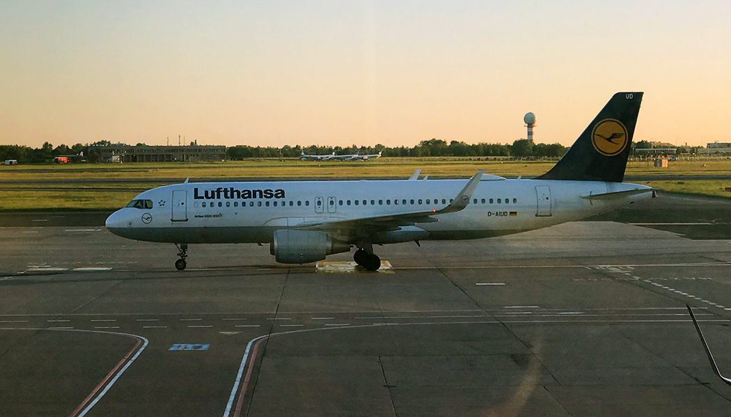 Como é voar com a Lufthansa