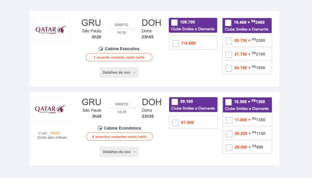Quanto custa viajar para Doha
