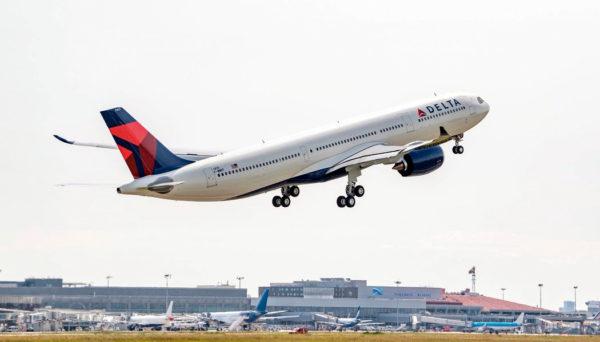 Como é voar na Delta