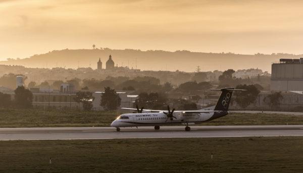 como ir do aeroporto de Malta