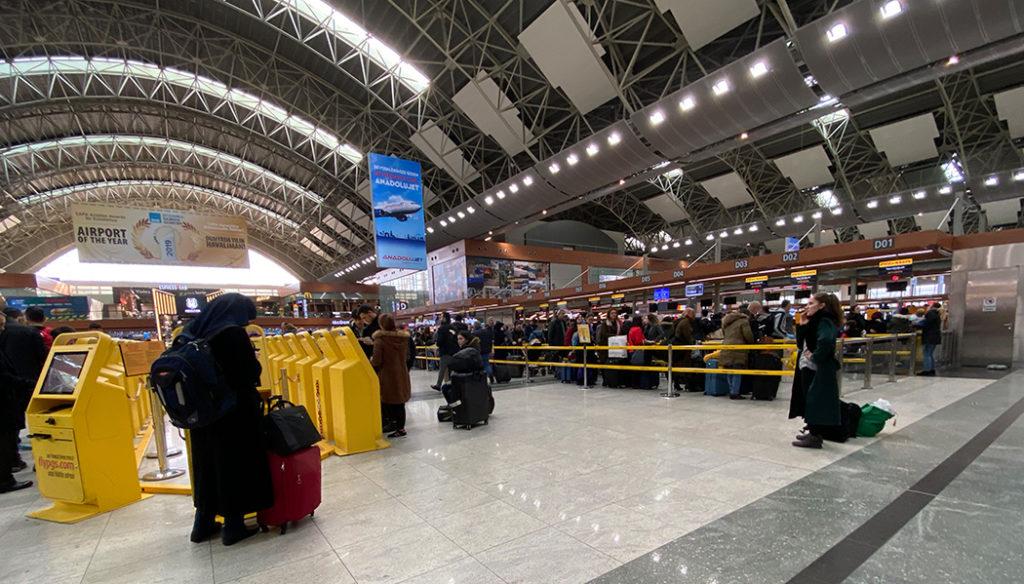 Como ir do Aeroporto Sabiha