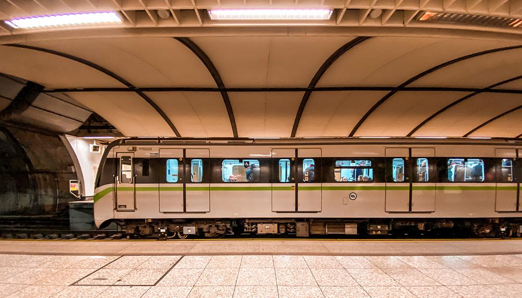 Como usar o metrô de Atenas