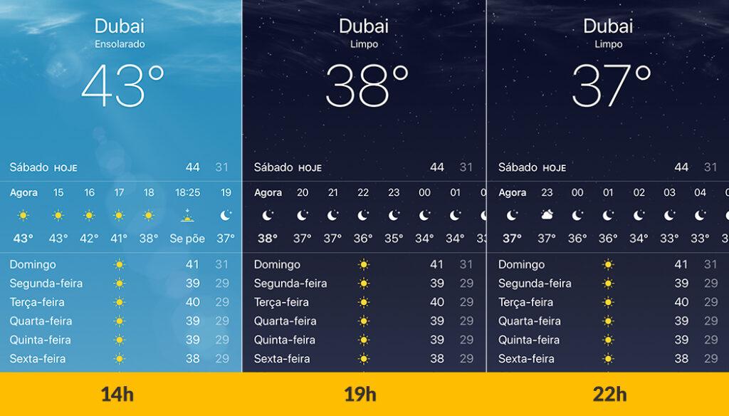 Viagem para Dubai