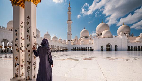 Bate volta de Dubai a Abu Dhabi