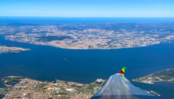 Conexão no aeroporto de Lisboa
