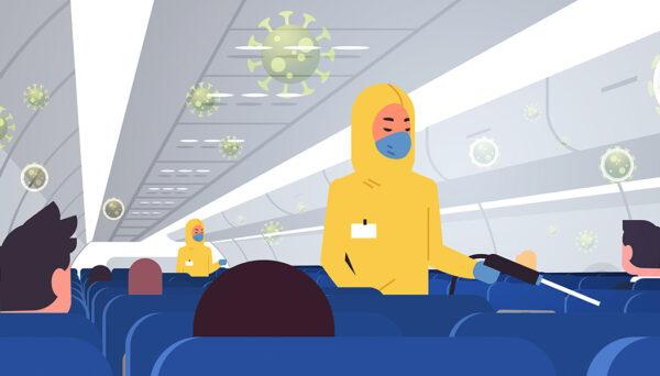 É seguro fazer uma viagem aérea durante a pandemia?