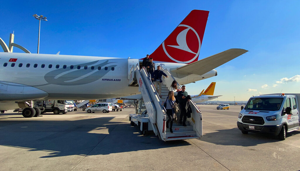 Turkish Airlines nas rotas domésticas