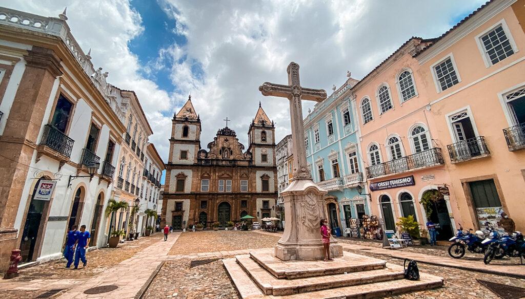 Roteiro no centro histórico de Salvador