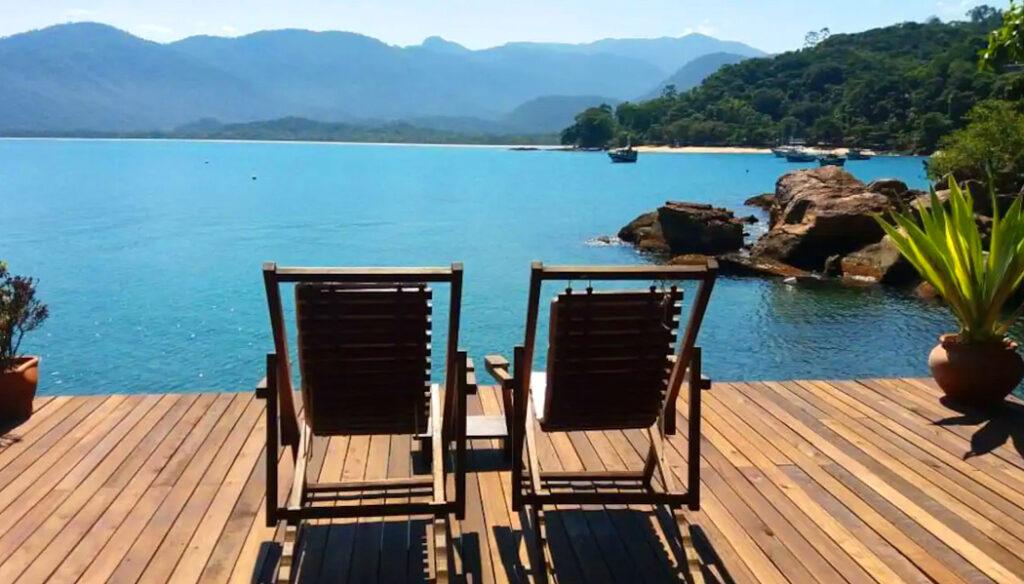 Airbnb no litoral de São Paulo