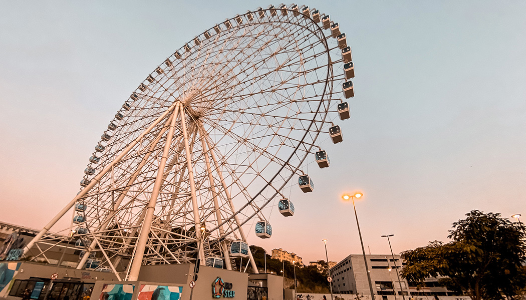 a roda-gigante do Rio